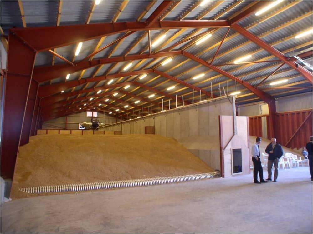 Построить зерно склад своими руками 60